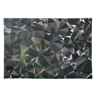 Modern Abstract Geometric Pattern - Night Dock Placemat