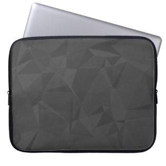 Modern Abstract Geometric Pattern - Shadow Cast Laptop Sleeve