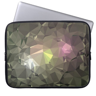 Modern Abstract Geometric Pattern - Sky Candle Laptop Sleeve