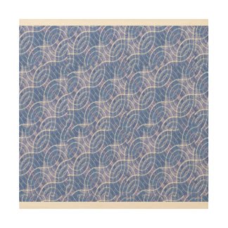 Modern Abstract Geometric Wood Prints
