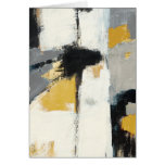 Modern Abstract Greeting Card