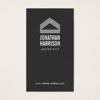 Modern Abstract Home Logo Business Cards