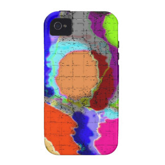 Modern abstract iPhone 4 case