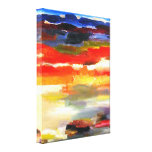 Modern Abstract Landscape Art Painting Stretched Canvas Prints