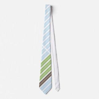 Modern Abstract Landscape Neck Tie