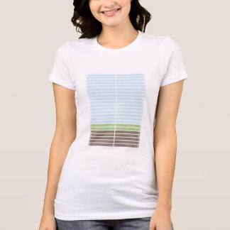 Modern Abstract Landscape Tee Shirt