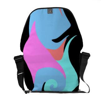 Modern Abstract Messenger Bag