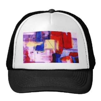 Modern Abstract Painting Art Print Cap