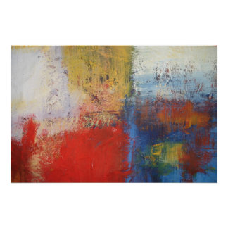 Modern Abstract Painting Art Print Poster