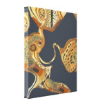 Modern Abstract Painting  Fluid Stretched Canvas Prints