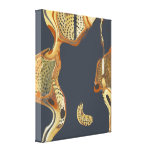 Modern Abstract Painting  Fluid Canvas Print