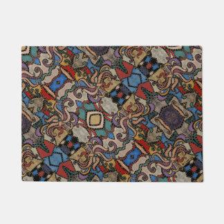 Modern Abstract Pattern M. Collins Doormat