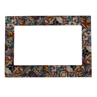 Modern Abstract Pattern Magnetic Picture Frame