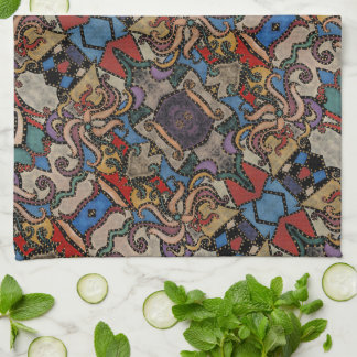 Modern Abstract Pattern Michelle Collins Tea Towel