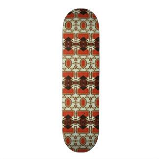 Modern abstract pattern skate board decks