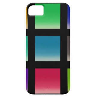 Modern Abstract Squares Pattern iPhone 5 Cover