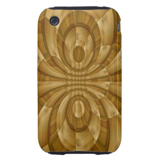 Modern abstract template iPhone 3 tough cases