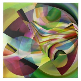 Modern Abstraction Tile