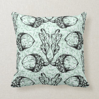 Modern Acorn Pattern Design Cushion