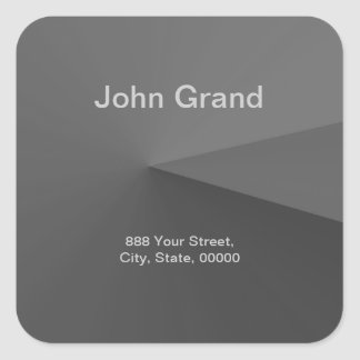 Modern Address Label Sticker