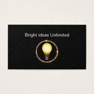 Modern Advertising Marketing Minimal Design Business Card