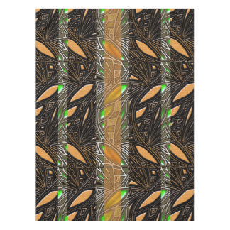 Modern African Abstract Motif Tablecloth