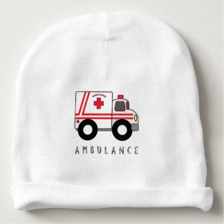Modern Ambulance Children's Design Baby Beanie