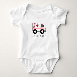 Modern Ambulance Children's Design Baby Bodysuit