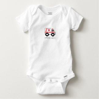 Modern Ambulance Children's Design Baby Onesie