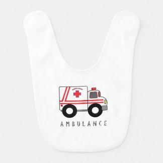 Modern Ambulance Children's Design Bib