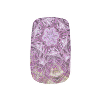 modern and abstract background minx nail art