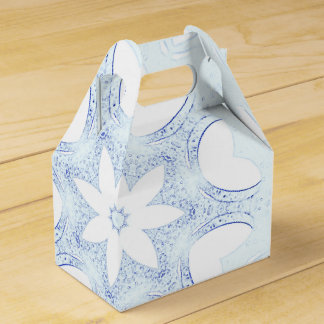 modern and abstract background party favour boxes