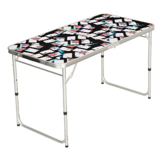 modern and abstract background pong table