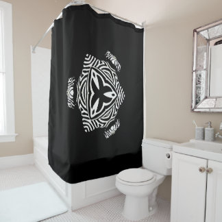 modern and abstract background shower curtain