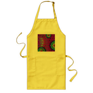 modern and colorful design to spots long apron