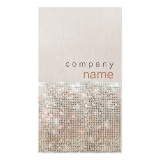Modern and Hip Beauty and Fashion Salon Double-Sided Standard Business Cards (Pack Of 100)