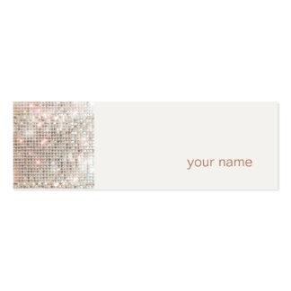 Modern and Hip Mini Profile Business Card