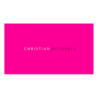 Modern and Minimal Business Card