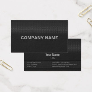 Carbon steel business cards zazzle modern and minimal fine carbon steel business card reheart Choice Image