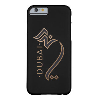 modern arabic calligraphy - Dubai Barely There iPhone 6 Case