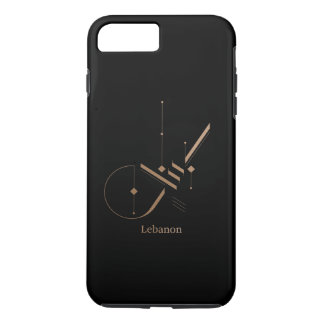 modern arabic calligraphy - Lebanon iPhone 8 Plus/7 Plus Case