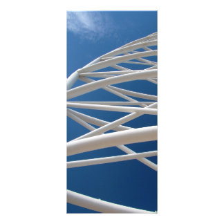 Modern Architecture Customized Rack Card