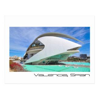 Modern architecture postcard