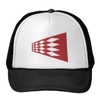 Modern Argyle Art Cap