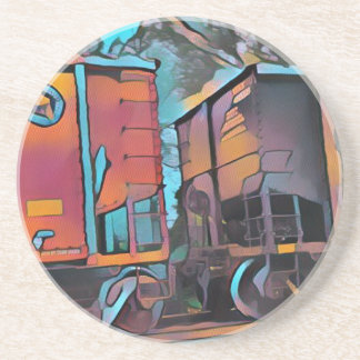 Modern aristocratic connecting Train cars Coaster