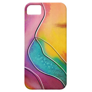 Modern art barely there iPhone 5 case
