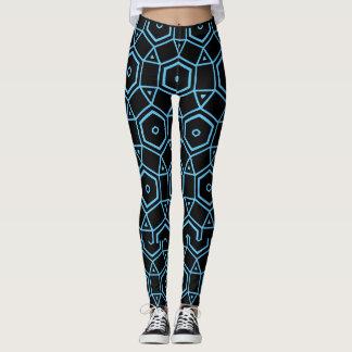 MODERN ART BLUES leggings