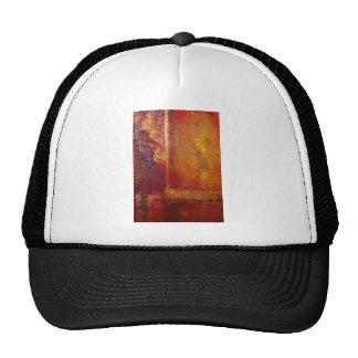 Modern Art Color Fields Orange Red Yellow Gold Trucker Hat