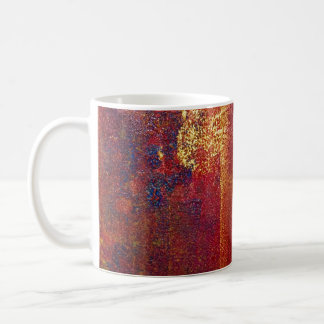 Modern Art Color Fields Orange Red Yellow Gold Mugs