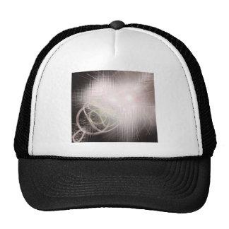 Modern Art Cubes and Swirls Trucker Hat